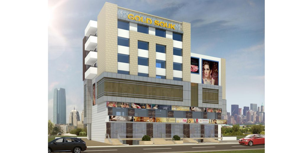 Ghaziabad Commercial Complex & Hotel at Ambedkar Road, Ghaziabad