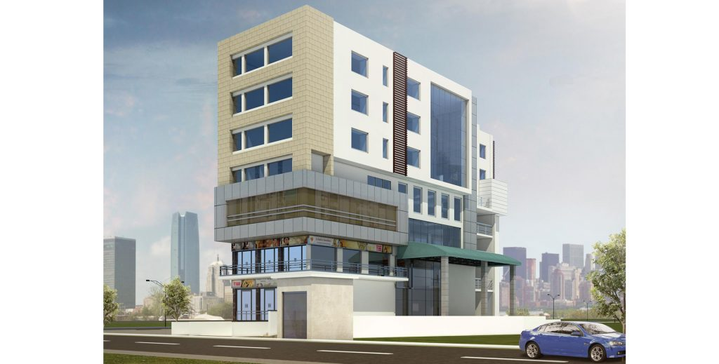 Commercial Complex & Hotel at Ambedkar Road, Ghaziabad