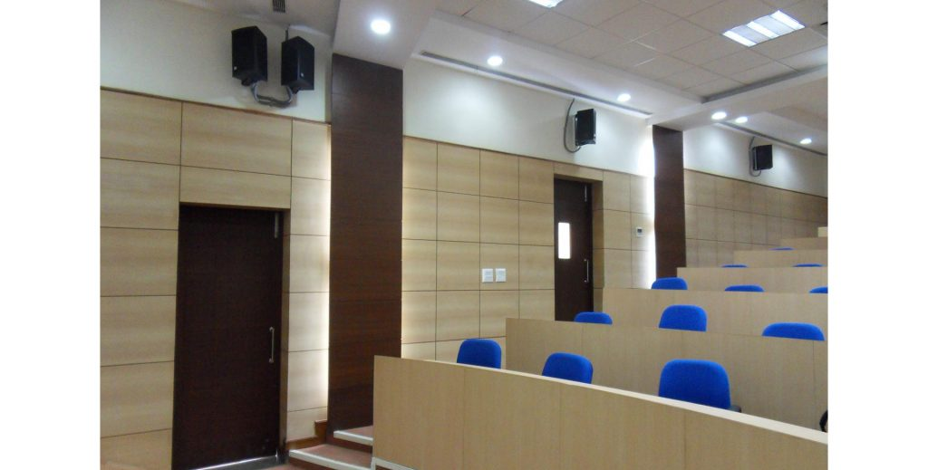 Auditorium, Indian Oil corporation, Gurgaon (Wall Pannelling)