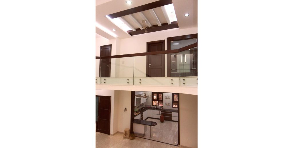 Double height area in Duplex House