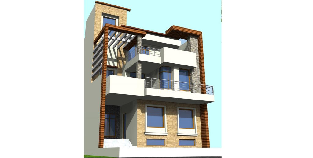 Residence of Mrs. Sangita Sharma at Sector 72, Noida