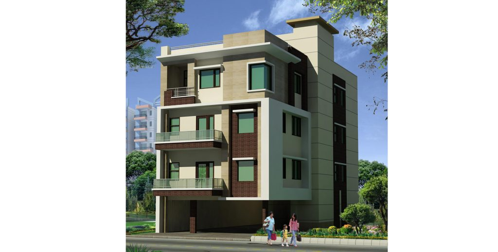 Residence of Mrs Sapna Malhotra at Sector 72, Noida