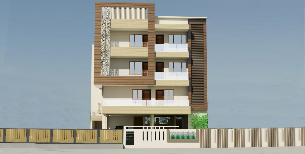 Residence of Mr. Satish Kumar Gautam Sector 72,  Noida