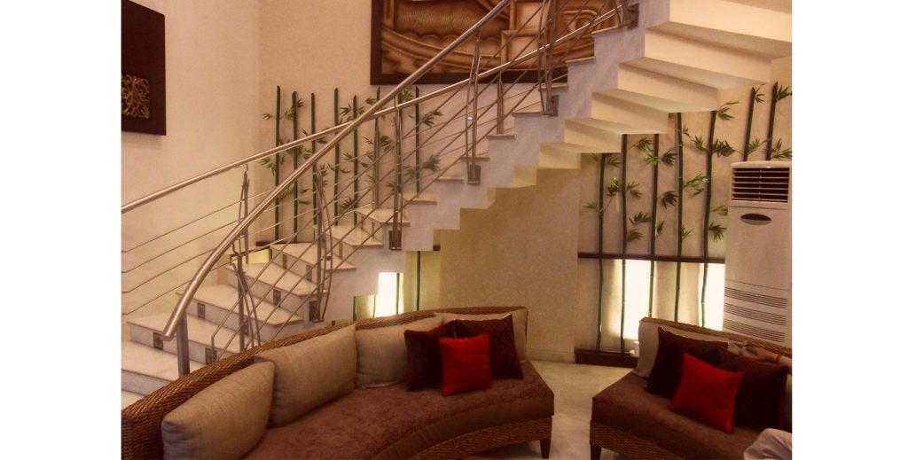 Staircase area in Duplex